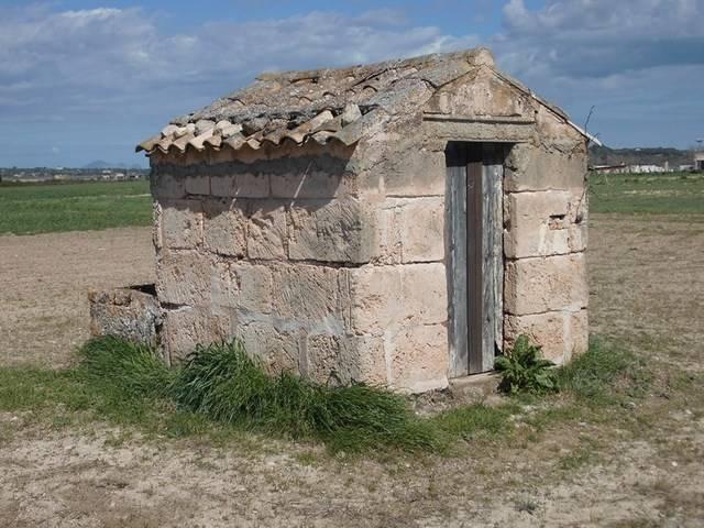 imagen 1 de Venta de parcela con pozo y caseta en Petra (Mallorca)
