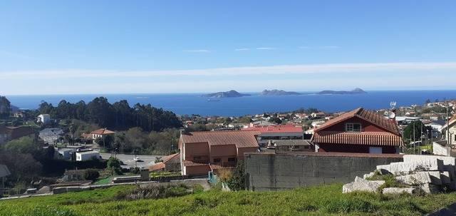 imagen 1 de Venta de terreno con buenas vistas en Priegue (Pontevedra)