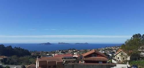 imagen 2 de Venta de terreno con buenas vistas en Priegue (Pontevedra)
