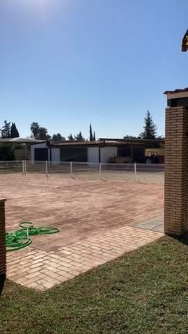 imagen 3 de Venta de terreno con chalet e instalaciones hípicas en Utrera (Sevilla)