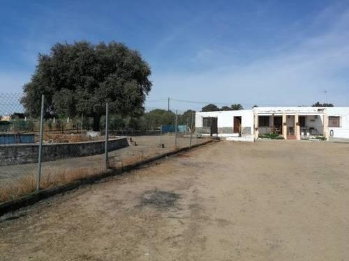 imagen 1 de Venta de parcela con casa y plaza de toros en Guillena