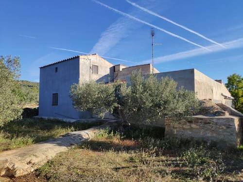 imagen 1 de Venta de casa rural con olivar en L´Ametlla de Mar