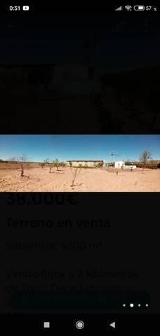 imagen 1 de Venta de finca con luz y agua en Toro (Zamora)