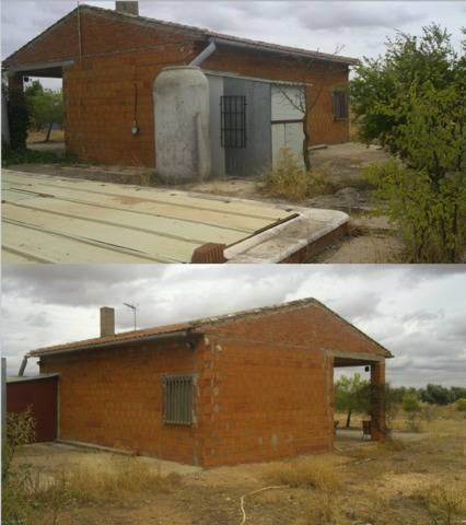 imagen 1 de Venta de terreno con casa de campo en Campo de Criptana
