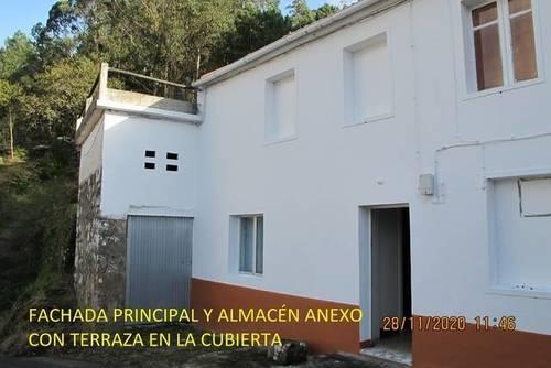 imagen 1 de Venta de casa rural con vistas al mar en Muros (A Coruña)